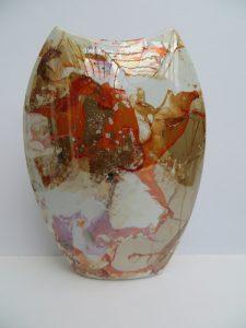 peinture-sur-porcelaine-creations-vase-arete-ambre