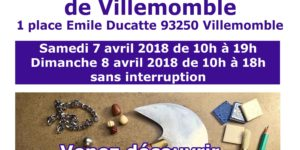 Affiche JEMA Villemomble 2018